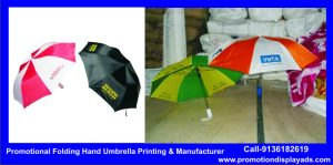 Promotional Folding Hand Umbrella Printing
