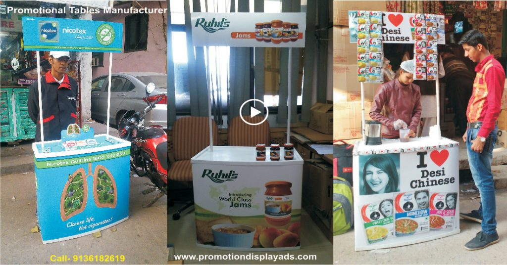 Promotional Table Manufacturers Display Promotion Counter