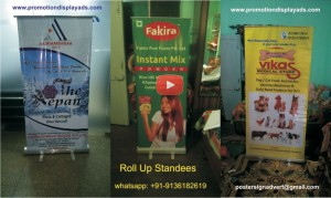 Roll Up banner Stand Manufacturer in Ghaziabad
