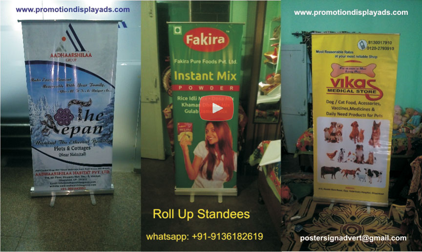 Roll Up Banner Standee Manufacturers Roll Up Standee