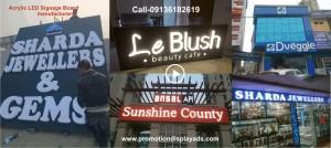 Acrylic-LED-Signage-board