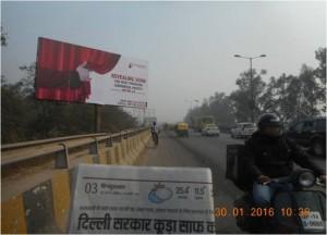 Unipole Mohan Nagar Flyover Delhi Facing 30'x15'ft